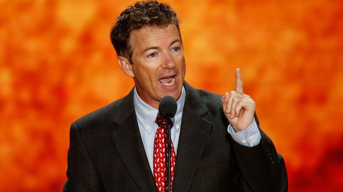 Rand Paul, possible 2016 presidential candidate