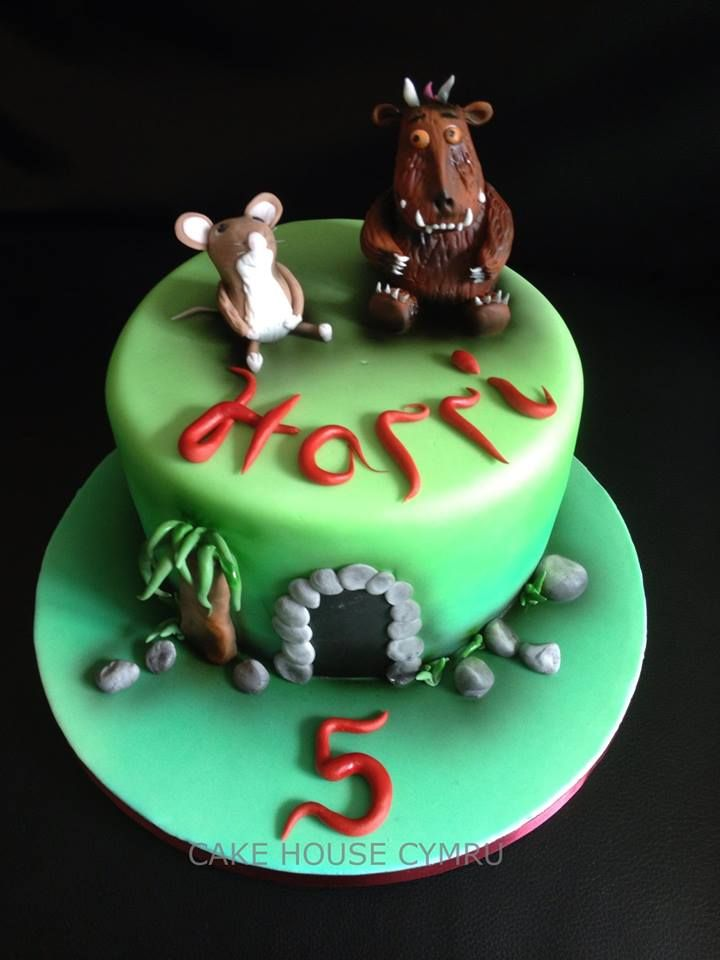 Th birthday cake gruffalo children s