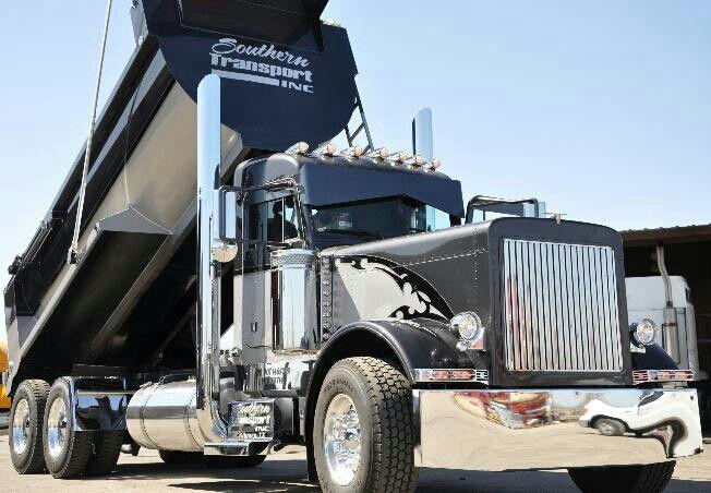 Peterbilt Dump Truck >> Peterbilt Diesel Wagon Dump truck   Diesel. Wagons   Pinterest