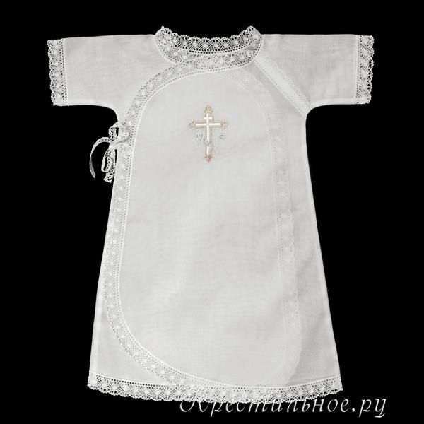 Сшить рубашку для крещения для мальчика