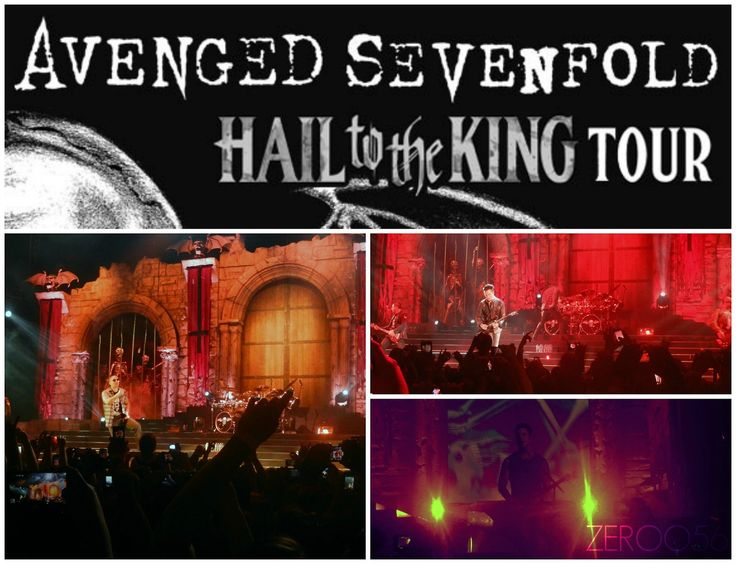 Avenged Sevenfold chicago 2013