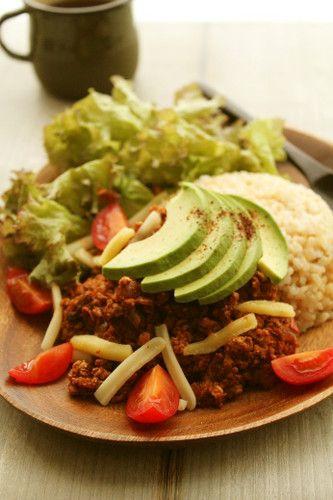 Tofu Vegetarian Taco Rice | Recipe