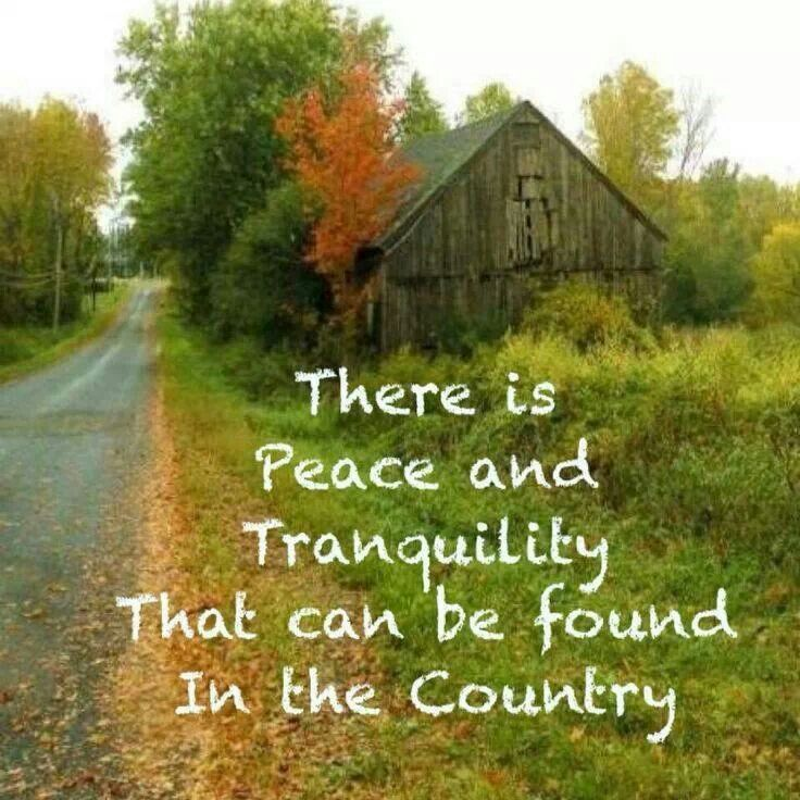 Good Quotes About Country Life. QuotesGram