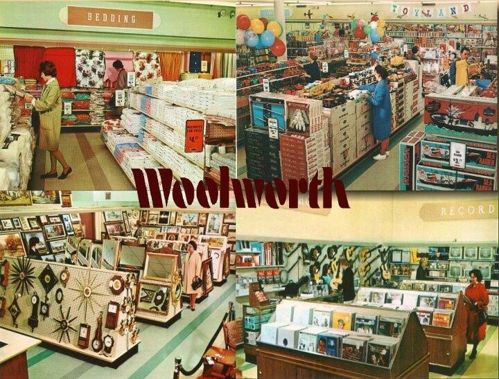 Woolworth 39 s retro vintage woolworth 39 s pinterest Five and dime stores history