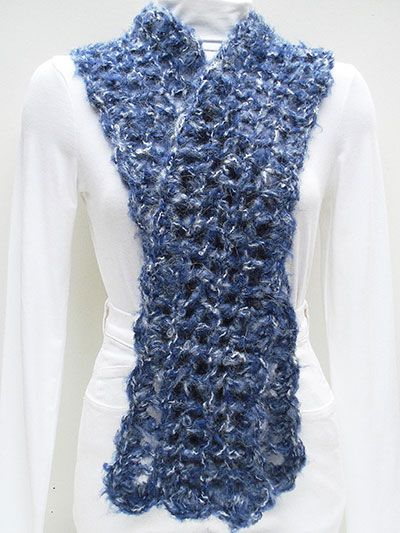 Crochet Scarf Pattern Easy Quick : Quick and Easy Wrap and Scarf Crochet Shawls and Scarves ...