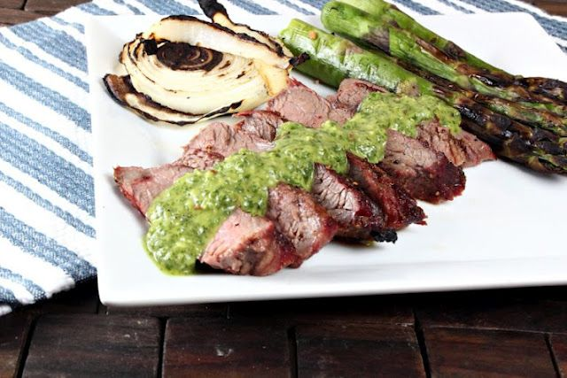 Grilled Flank Steak with Chimichurri Sauce | Generation Y Foodie