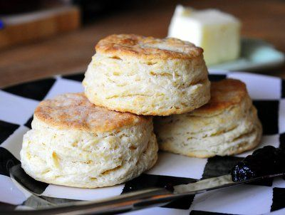 Flaky Sour Cream Biscuits | Baking Bites. Just made these. The very ...