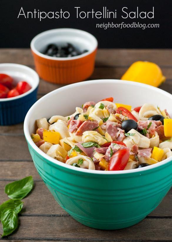 Salami, ham, cheese, and veggies make up this robust Antipasto ...