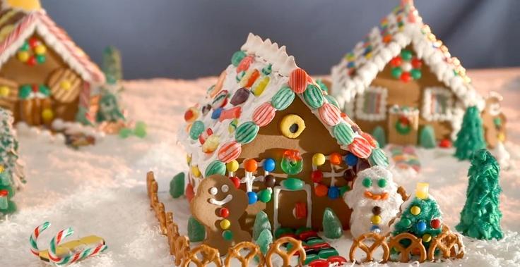 Gingerbread House - Bulk Barn Recipe   Recipes!   Pinterest