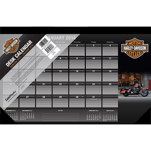 Harley Davidson Desk Pad Express Your Freedom And Your