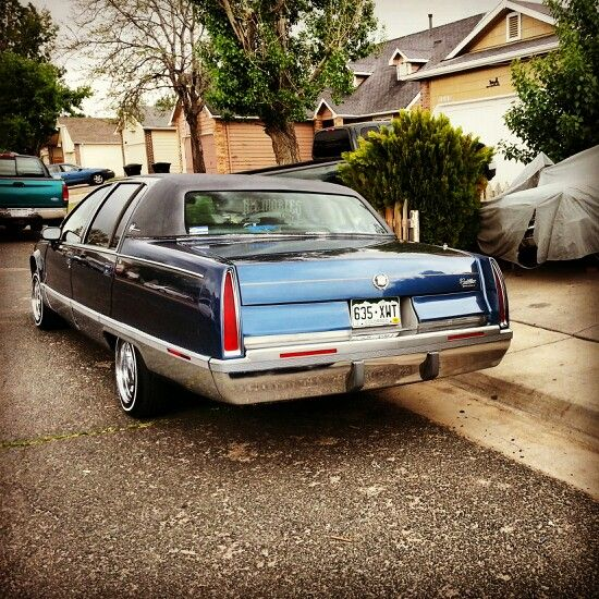 1994 cadillac fleetwood lowrider pinterest. Cars Review. Best American Auto & Cars Review