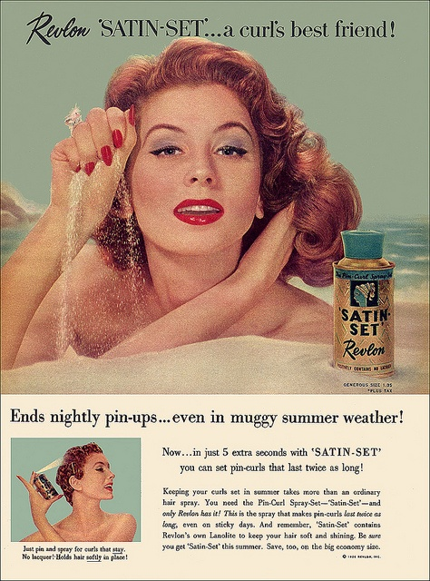 Satin Vintage Ad