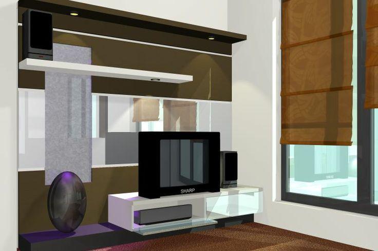 ide desain interior minimalis modern ruang keluarga
