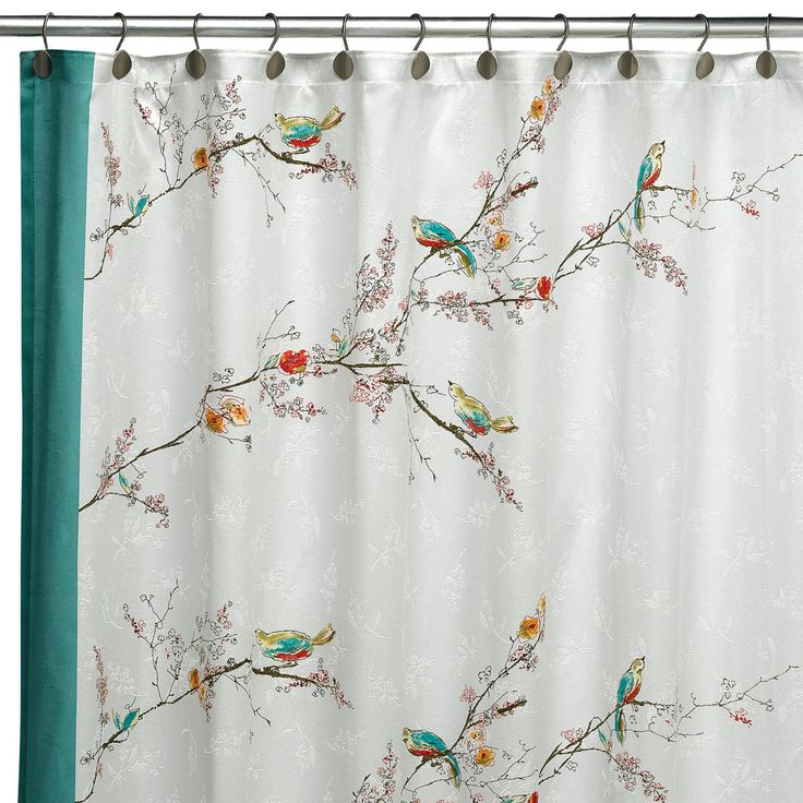 Extra Wide Curtain Rods White Fabric Shower Curtain