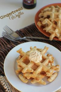 Gingerbread Waffles | How to make gingerbread waffles :-)