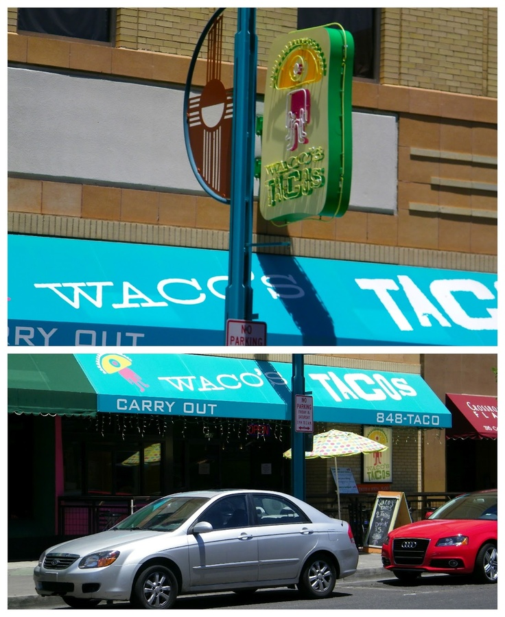 Waco's Tacos in Downtown Albuquerque. (Click for a full review on Follow Eric)