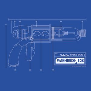 Tesla Gun Blueprint Warehouse 13 Pinterest