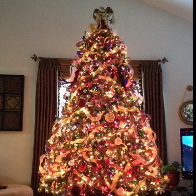 my award winning christmas tree 2011 christmas pinterest