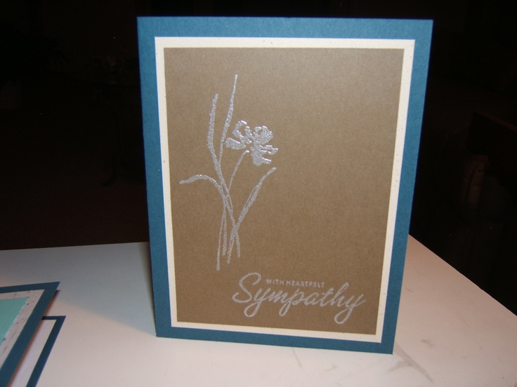 Sympathy card stamps by stampin up love and sympathy pinterest