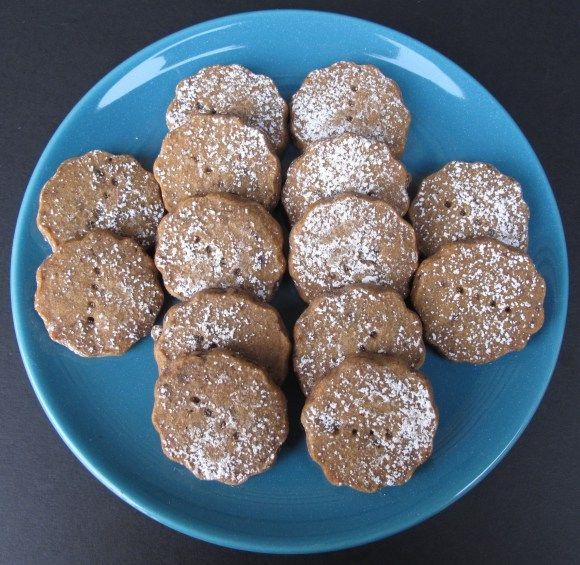 Espresso Chocolate Shortbread Cookies | baking | Pinterest