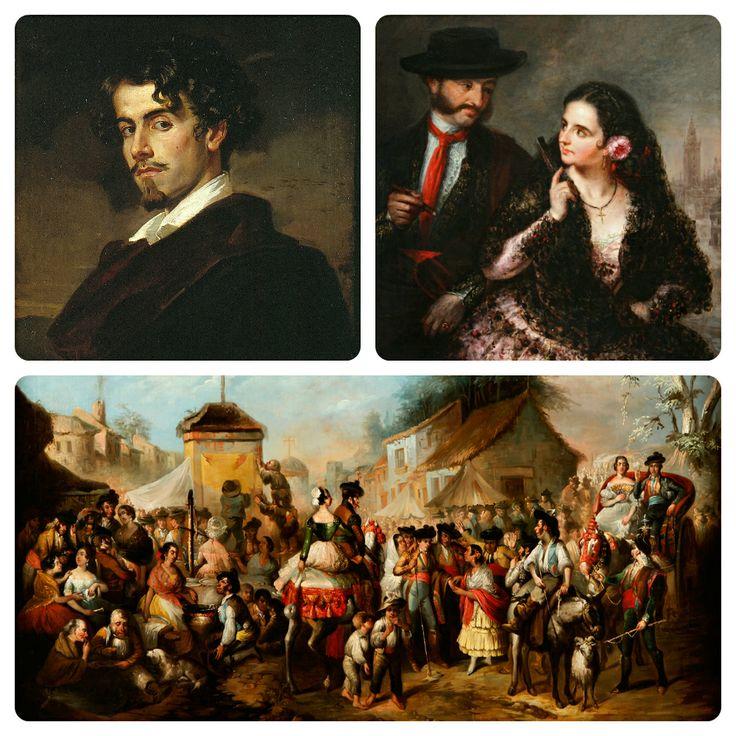 Resultado de imagen de romanticismo español pintura