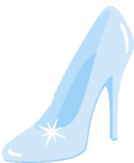 glass slipper clip art - Google Search | Themes | Pinterest