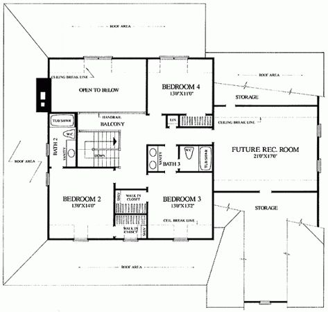 Homestead 2nd Floor House Plans Pinterest