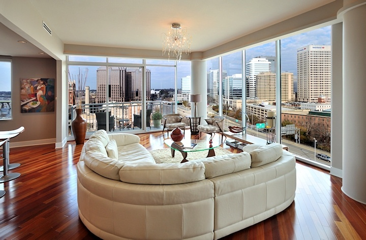 Vistas On The James Condo Richmond Va Home Interior
