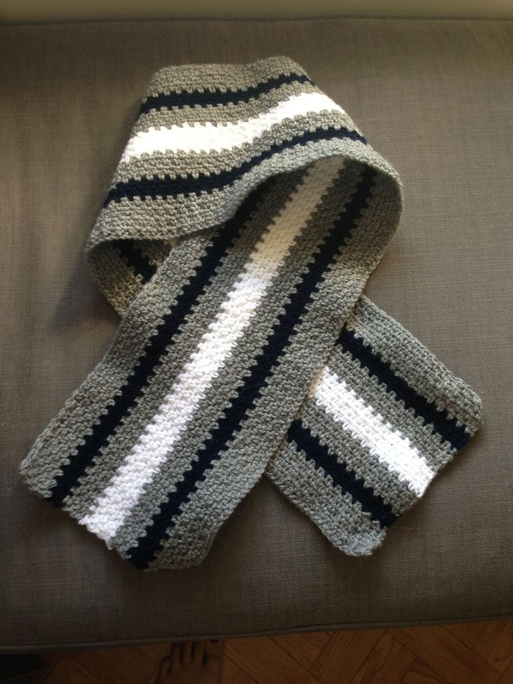 Crochet Stitches Moss Stitch : Crochet Moss stitch scarf. Ps... I made this. Pinterest
