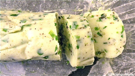 Fresh Herb Compound Butter | The Hungry Mouse