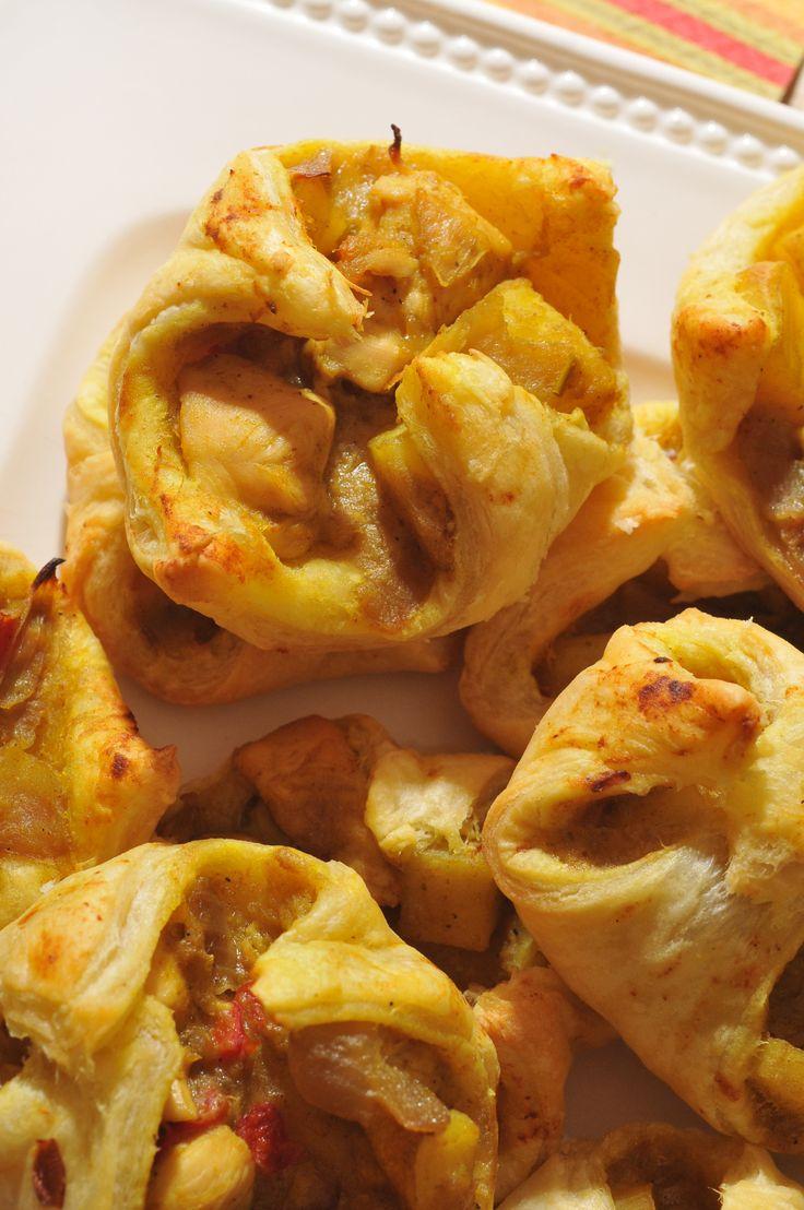Chicken Curry Puffs | Chicken | Pinterest