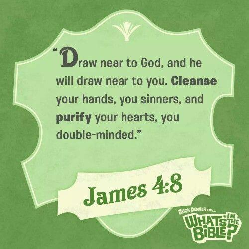 Image result for James 4:8