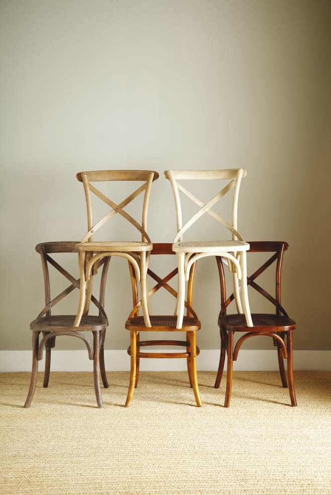 cross back french bistro chairs home sweet home pinterest