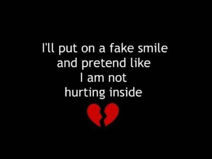 When your hurting inside | Hurt | Pinterest