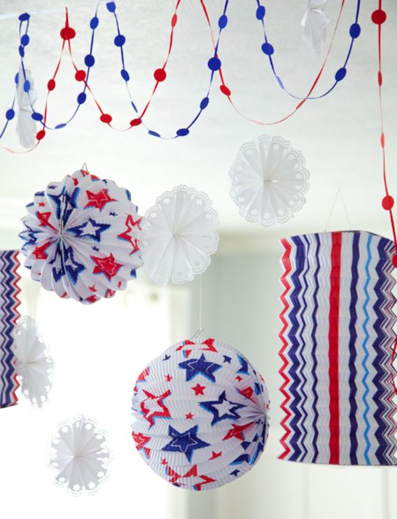 4th of july decorations uk
