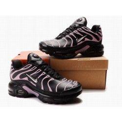 Womens Nike Air Max TN Shoes Fashion Black And Pink