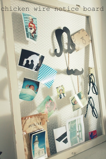 Upcycled noticeboards family budgeting for Creative notice board