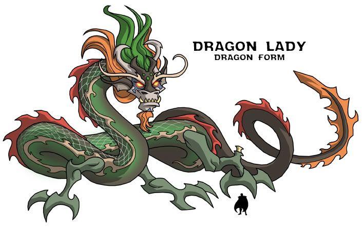 Dragon Lady | The Asian folk of M.O.T.U | Pinterest