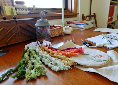 Anna Scott Embroidery: Beginnings