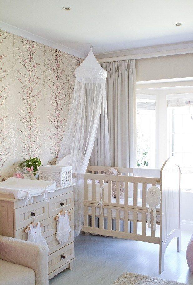 Nursery room beige : Beautiful baby girl nurseries