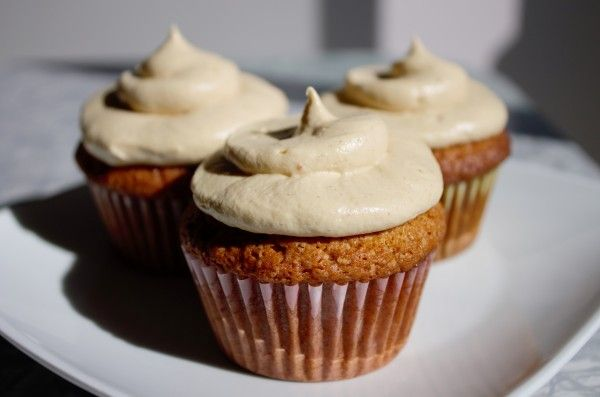 Gluten Free Pumpkin Cupcakes--What a sweet way to celebrate fall!