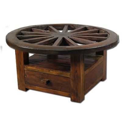 Wagon Wheel Coffee Table Diy Pinterest