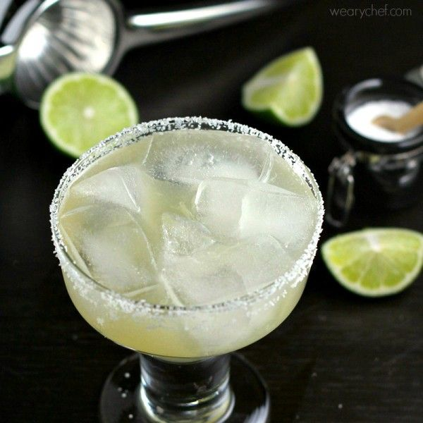 The Best Authentic Margaritas - The Weary Chef