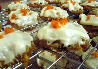 Low-Fat Carrot Cake Cookies with Cream Cheese Frosting | The Healthy ...