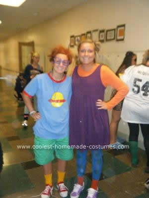 costume last halloween i was chuckie finster from rugrats the chuckie chuckie rugrats costume