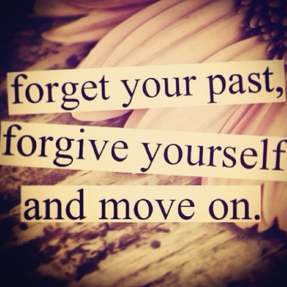 forgetting the pas Best way to forget the past - understand why its disturbing you , the hurt you  might have got during that past have to be removed  if somebody has hurt you.