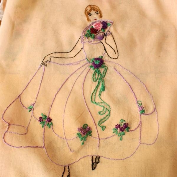 Vintage Hand Embroidery | Makaroka.com