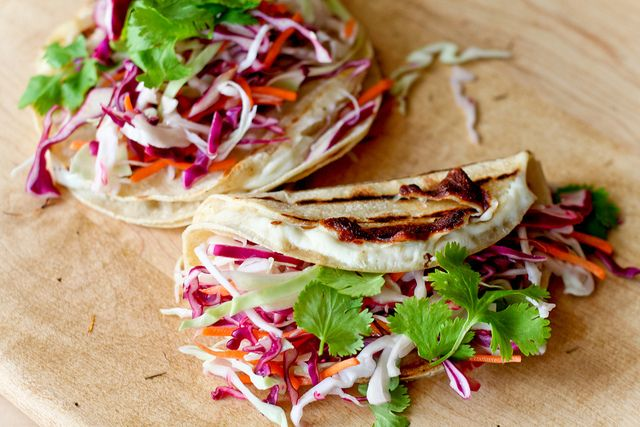 Nicaraguan-style Repochetas (Quesadilla-Tacos)/ Vegetarian Recipe
