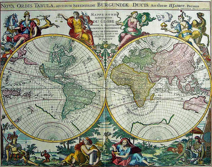 world map 1700 mapasart