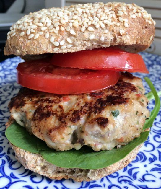 feta turkey burgers - Hungry Happens! | Yummy Food :) | Pinterest